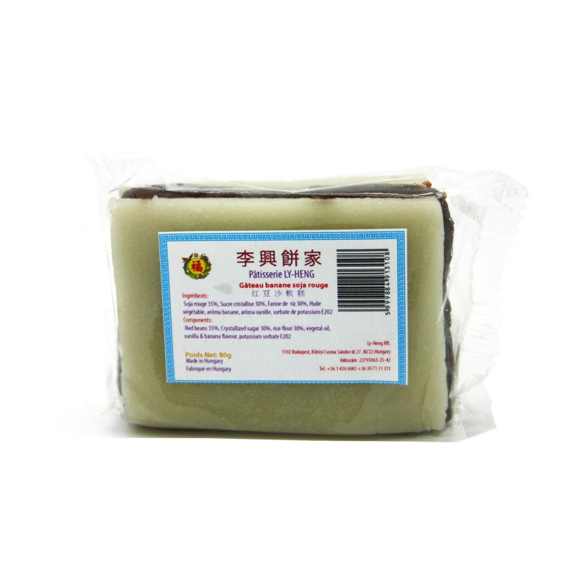 Gâteaux banane soja rouge 80g