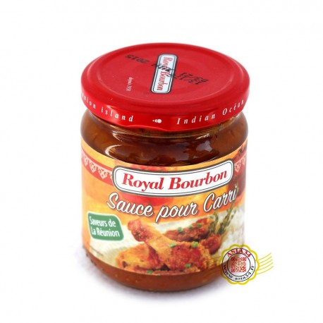 Sauce pour carri Royal Bourbon 200g