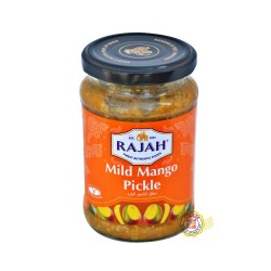 Mild Mangue Pickle (Conserve de mangues aux épicés douces) RAJAH 285g