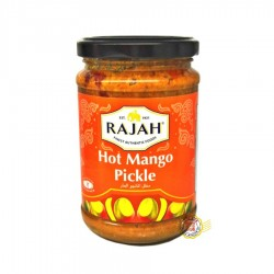 Hot Mangue Pickle (Conserve de mangues épicée) RAJAH 285g