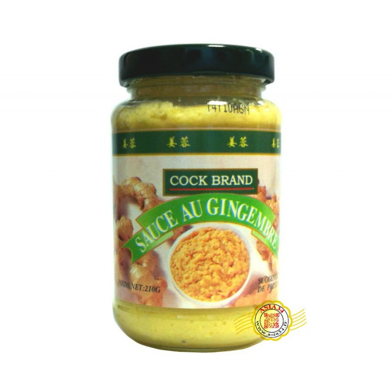 Sauce au gingembre cock 210g