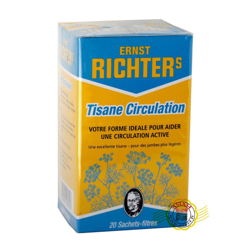 Tisane  circulation .Richter's . 40g