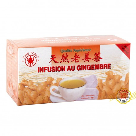 Infusion au gingembre. 40g