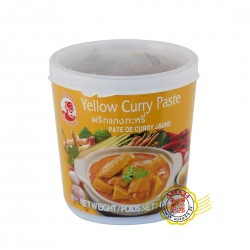 Pâte de curry jaune Yellow Curry paste 400g