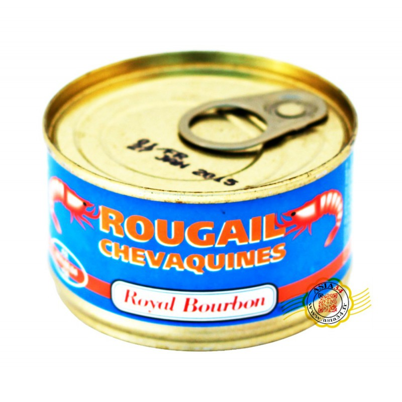 Rougail chevaquines. Royal bourbon. 136g