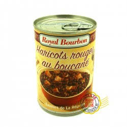 Haricots rouges au boucané Royal bourbon 420g