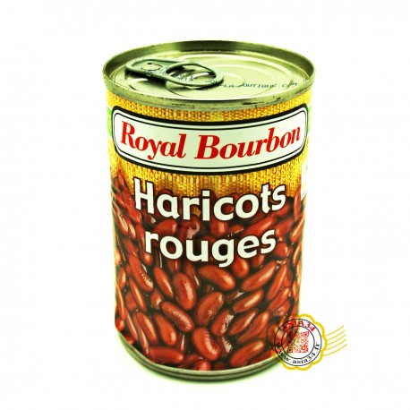Haricots rouges . Royal bourbon. 400g