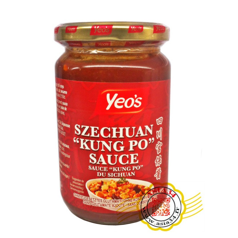 Sauce Sichuan Kung Po Yeo's 250ml