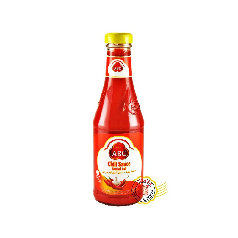 Sauce chili original (Sambal Asli) ABC  335ml