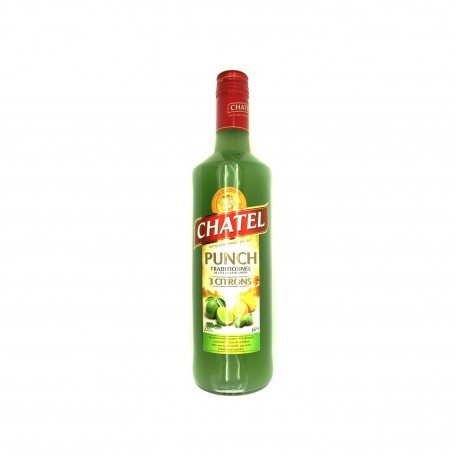Punch traditionnel. citrons verts. chatel. 700ml