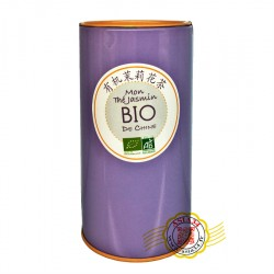 Thé jasmin bio traditionnel de Chine 70g