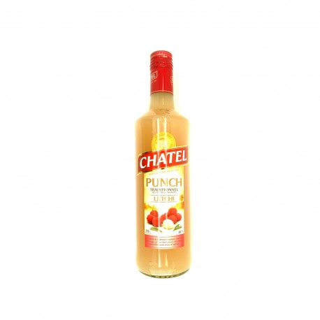 Punch traditionnel. lychee. chatel. 700ml