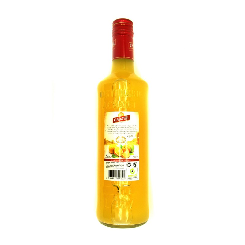 Punch traditionnel. planteur. chatel. 700ml