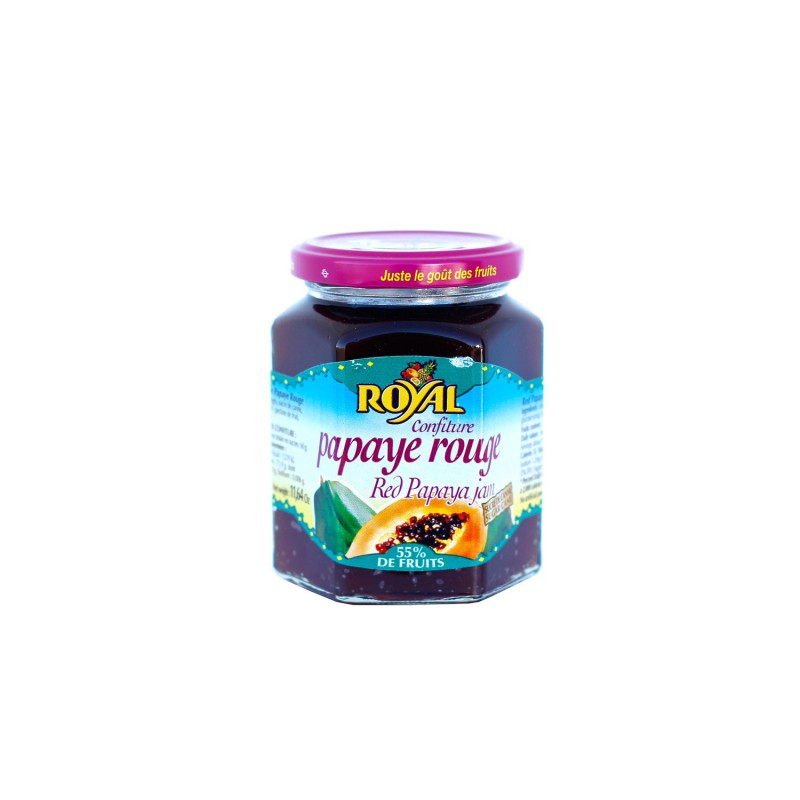 Confiture extra de papaye rouge. Royal. 330g