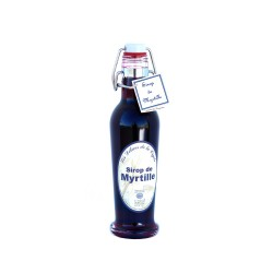 Sirop de myrtille d'une production familliale dans le Vaucluse 250ml